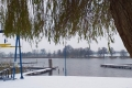 Pierwszy śnieg na przystani 03.12.2020
