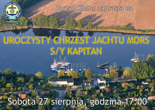 Chrzest Jachtu Mors S/Y Kapitan